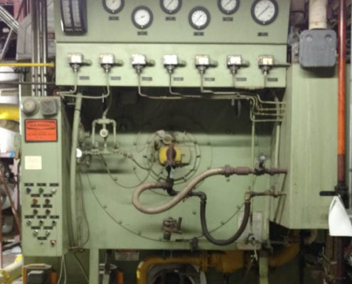 electronic control corporation steam boiler control project