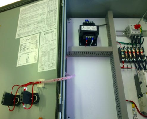 simplex pump control panel by ecc-automation